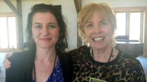 Vicki Cobb and I had lots of great chats about nonfiction writing.