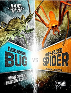 Assassin Bug vs. Ogre-faced Spider cover
